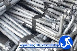 Angkur Tiang PJU Galvanis Hotdip