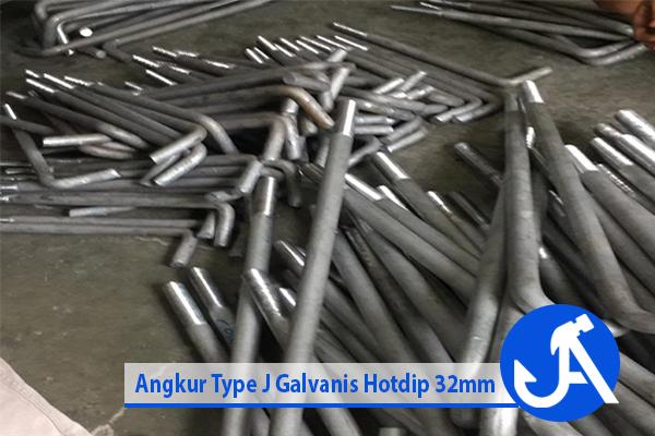 Angkur Type J Galvanis Hotdip 32mm